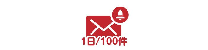 メール送信の制限