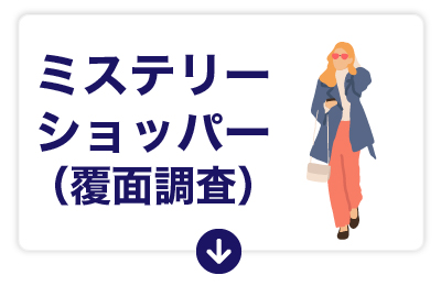ミステリーショッパー(覆面調査)